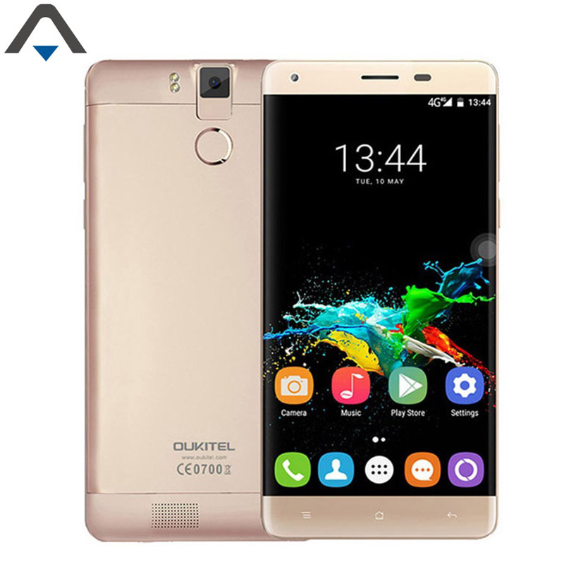 Original Oukitel K6000 Pro 4G LTE MobilePhone Android 6.0 SmartPhone Octa Core 5.5 inch 3GB RAM 32G ROM 13MP 6000mAh Fingerprint