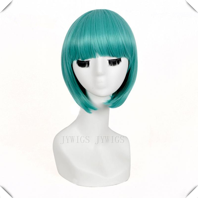 Lady Gaga Wig Synthetic Women's Short Bob Cosplay Anime Party Costume Hair