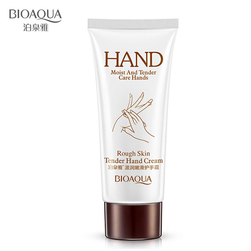 BIOAQUA Natural Glycerin Hand Cream Moisturizer Hydrating Whitening Skin Anti Wrinkles Aging Chapping Hands Care