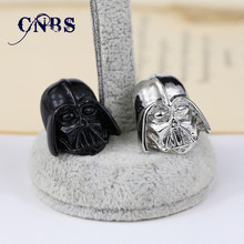 12/pcs/lot Star Wars Darth Vader Broche Crachá pode dropshipping de Metal Acessórios Da Jóia Agradável Presente(China)