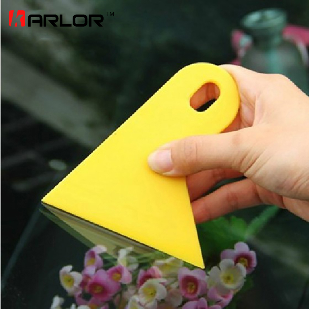 Carbon Fiber Vinyl film Wrapping Scraper Tools Bubble Window Wrapping Film Squeegee Scraper Car Styling Stickers Accessories free shipping 3m squeegee high quality wrapping scraper with cloth pp sticker scraper car wrap tools felt scarper squeegee a02
