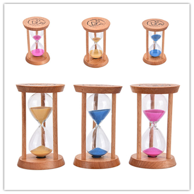 Stylish Ornament 3Minute Sand Hourglass Countdown Timing Modern