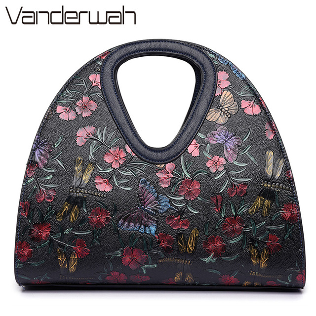 Erfly Bag Luxury Handbags Women Bags Designer Brand Flower Las Hand Dragonfly Handbag 2017 Sac