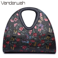 Butterfly Women Hobos Bag Shoulder Bags Messenger Bag High Quality Chinese Style Handbags 2017 New Hand