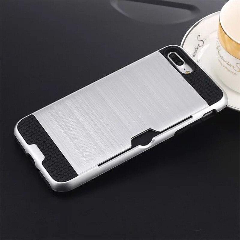 Funda de defensa combinada híbrida Karribeca para iphone 7 cubierta - Accesorios y repuestos para celulares - foto 5