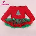 Baby Girls Christmas Dress Cotton Baby Santa Claus Clothing infant Party Ball Gown Princess Baby Dresses Kids Bebes Vestidos