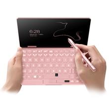 Оригинальный One Mix2S 7 «ips сенсорный розовый планшетный ПК 8-й процессор Intel M3-8100Y cpu Карманный ПК с 8 Гб оперативной памяти 256 ГБ диск PCIe SSD Bluetooth