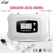 Vendita CALDA! GSM 3G mobile del segnale del ripetitore 850mhz CDMA 2g 3g ripetitore Yagi amplificatore cellulare per home office appartamenti, ecc.