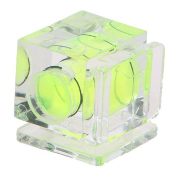 цена на Camera Bubble Hot Shoe Spirit Level Mount 3 Axis 2 Axis 1 Axis for DSLR Film Cam Canon  Olympus