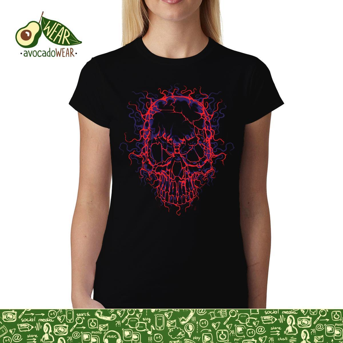 High Voltage Skull Women men T-shirt S-3XL New T Shirts  Tops Tee Unisex Funny Quality Casual Printing 100% Cotton