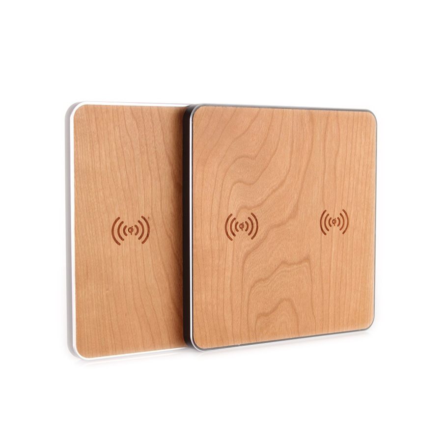 Qi Wireless Charger Wood Double Charger Charging Pad Mat for Samsung Galaxy S7 S8  S9 Note8 for Iphone X 8 Plus Phone SuppliesQi Wireless Charger Wood Double Charger Charging Pad Mat for Samsung Galaxy S7 S8  S9 Note8 for Iphone X 8 Plus Phone Supplies