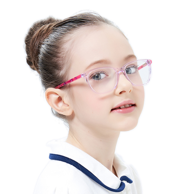 Kids Eyeglass Frames Pink Children Eyeglasses Optical Frame Kids Glasses Acetate Children Spectacle Frame Kid Glasses Frame