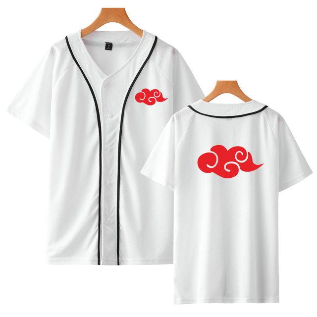 Naruto Akatsuki Camiseta de Béisbol (2 tipos)