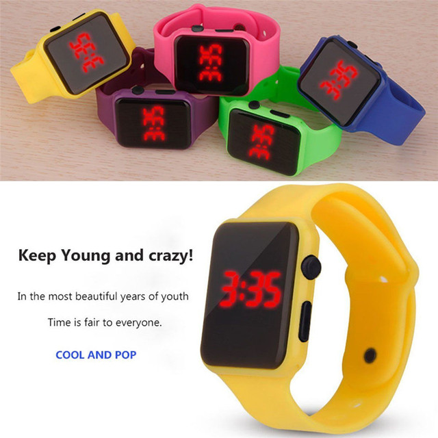 Men Sports LED Watches Men Digital Watch Men Watch Silicone Electronic Wristwatches Electronic Clock Hodinky digital relogio Y5 2
