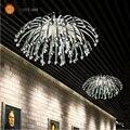 Candeeiros de Tecto modernos e Criativos, Prateado/banhado a ouro Acrílico luzes Para Sala de estar/Quarto/Sala de Cozinha Para decoração (XP-50)