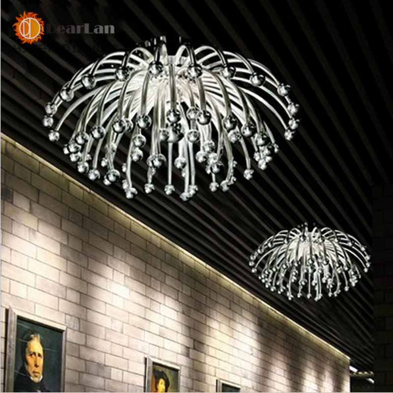 ФОТО Modern Creative Ceiling Lamps,Silvery/golden plated Acrylic lights For Living Room/Bedroom/Kitchen Room For Decoration(XP-50)
