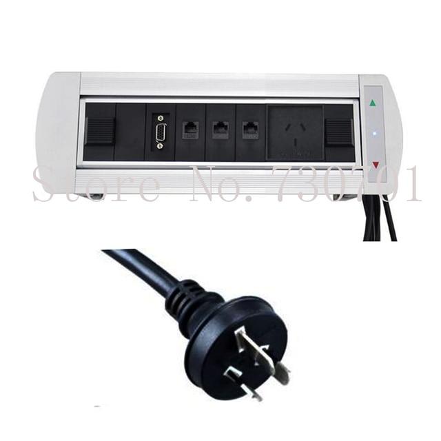 desk power outlet. Australia New Zealand With HDMI,USB,VGA,Audio Desktop Power Plug Socket Outlet Desk