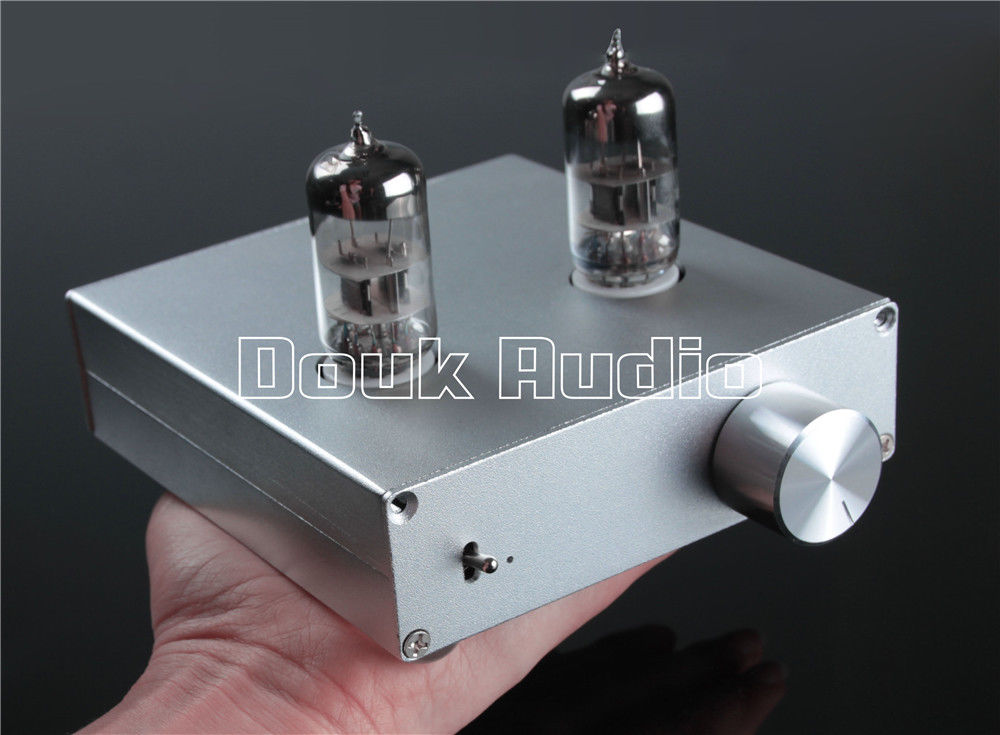 Douk Audio 6N3 Vacuum Valve Tube Pre-Amplifier Stereo Hi-Fi Preamp DIY Desgin 2016 lastest douk audio vacuum 6j9 tube headphone amplifier stereo