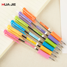 Fashion Creative Blue Ink Ballpoint Pen Touch 0.5mm 12Pcs Magic Refill Office School Writing Stationery K5