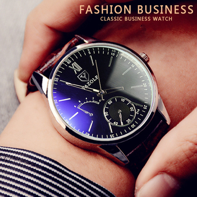2018 Fashion Casual Watches Men Sports Watch Quartz Analog Wrist Watch Clock Male Hour Men Watch Leather Erkek Saat 2016 fashion casual men women unisex neutral clock roman wood leather band analog hour quartz wrist watches relogios fabulous