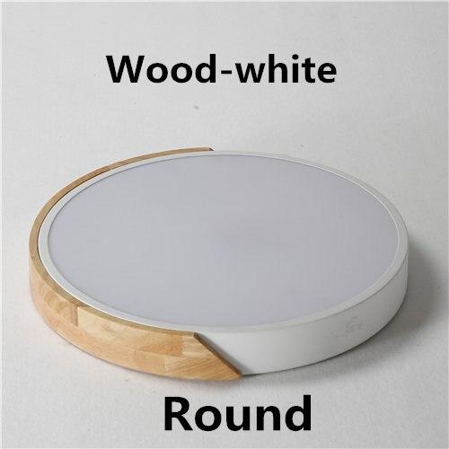 Wood-Round-white