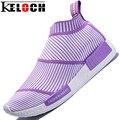 Keloch Nuevo Diseño Mujeres de La Manera Ocasional Zapatos de Mujer Transpirable Zapatos Al Aire Libre Mujeres de Los Planos de Zapatillas Mujer