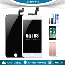 Grade AAA 4.7 5.5 LCD Screen For iPhone 6 6S Plus Display + Touch Replacement S 5S Ecran Pantalla