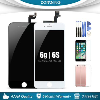 цена на Grade AAA LCD Screen For iPhone 6 6S 7 8 Plus LCD Display + Touch Screen Replacement For iPhone 6 S 5S LCD Ecran Pantalla
