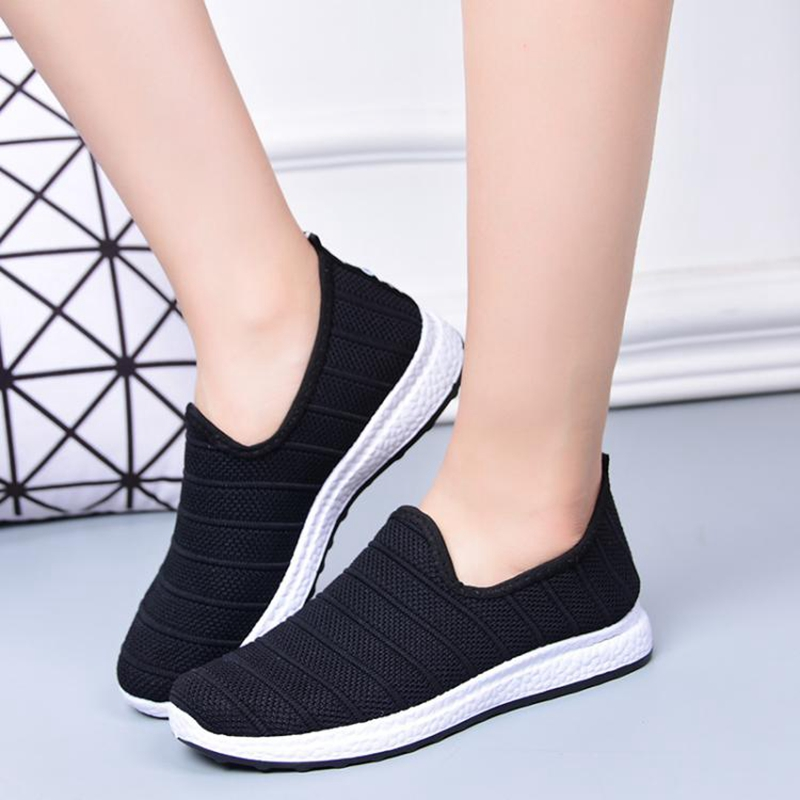 women flats 2018 New Women's fashion Slip on Soft Casual Shoes ladies footwear flat shoes Female Walking Shoes Plus Size women flat shoes new spring female casual women shoes slip on flat leisure bowtie bowknot ladies trend fashion shoes size 35 39