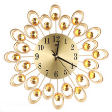 Vintage Round Crystal Wall Clocks
