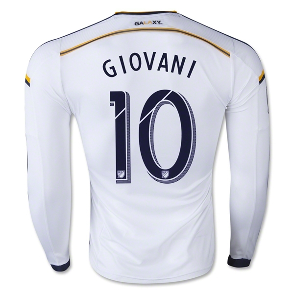 00cbfd7ba Los Angeles Galaxy Soccer 10 Landon Donovan Long Sleeve Jersey LA Galaxy  Football Shirt Long 8 Steven Gerrard 23 BECKHAM ZARDES-in Soccer Jerseys  from ...
