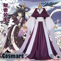 [Customize]Anime TSUBASA Card Captor Sakura Princess Tomoyo Kimono Dress 3 designs Halloween Cosplay costumes for women NEW