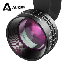 Aukey Optic Pro Lens 2X HD Telephoto Cell Phone Camera Lens kit 2X AS Close No Distortion No Dark Circle for iPhone7 HTC Samsung