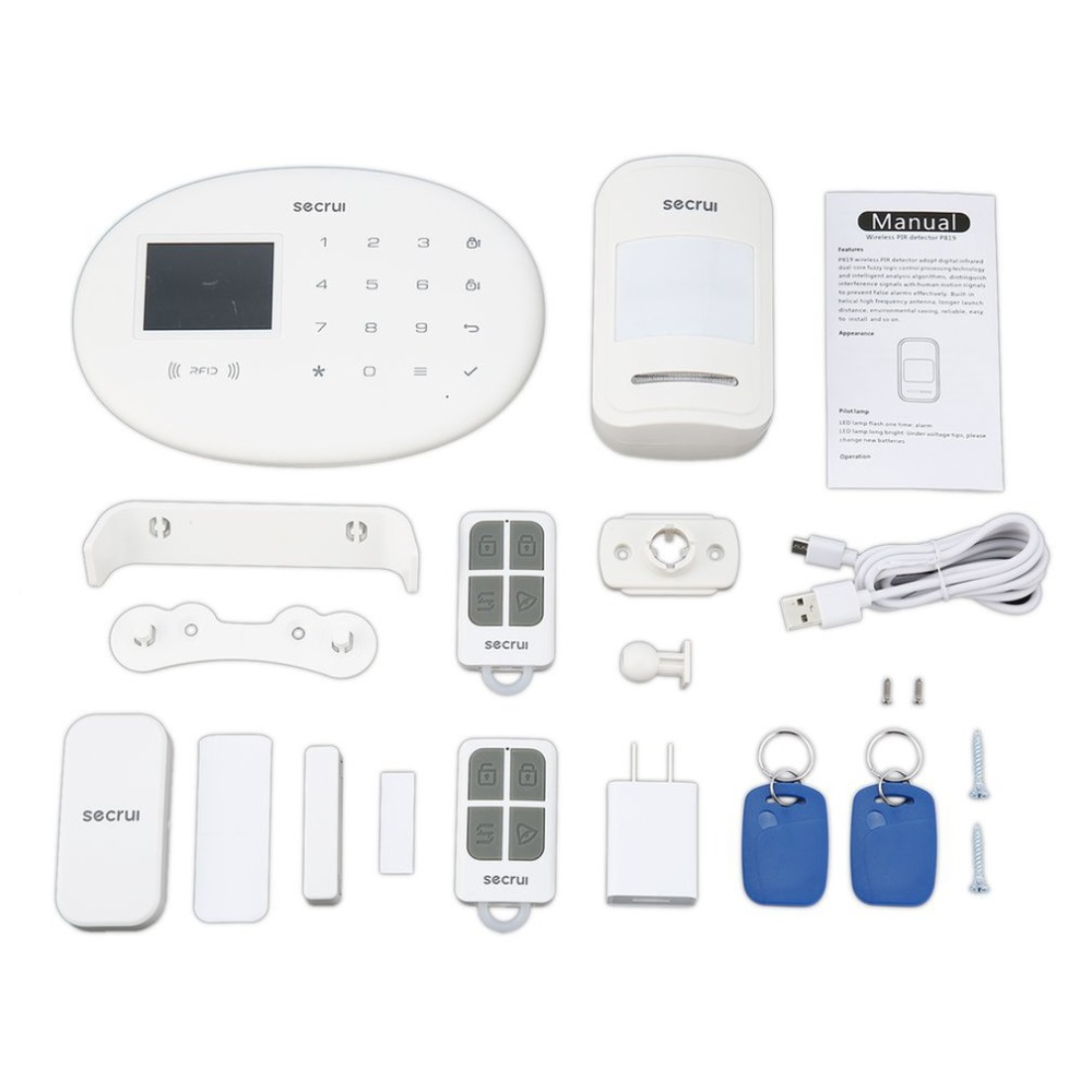 W20 TFT Color Screen GSM Alarm System Wireless Detector Digital Dual Core Technology Infrared Detector Import SensorsW20 TFT Color Screen GSM Alarm System Wireless Detector Digital Dual Core Technology Infrared Detector Import Sensors