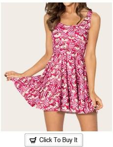 4d5ffbc586 Free Shipping New 2014 Women Summer Dress Crazy Cat Lady Reversible Skater  Dress Print Dresses Sexy Dress