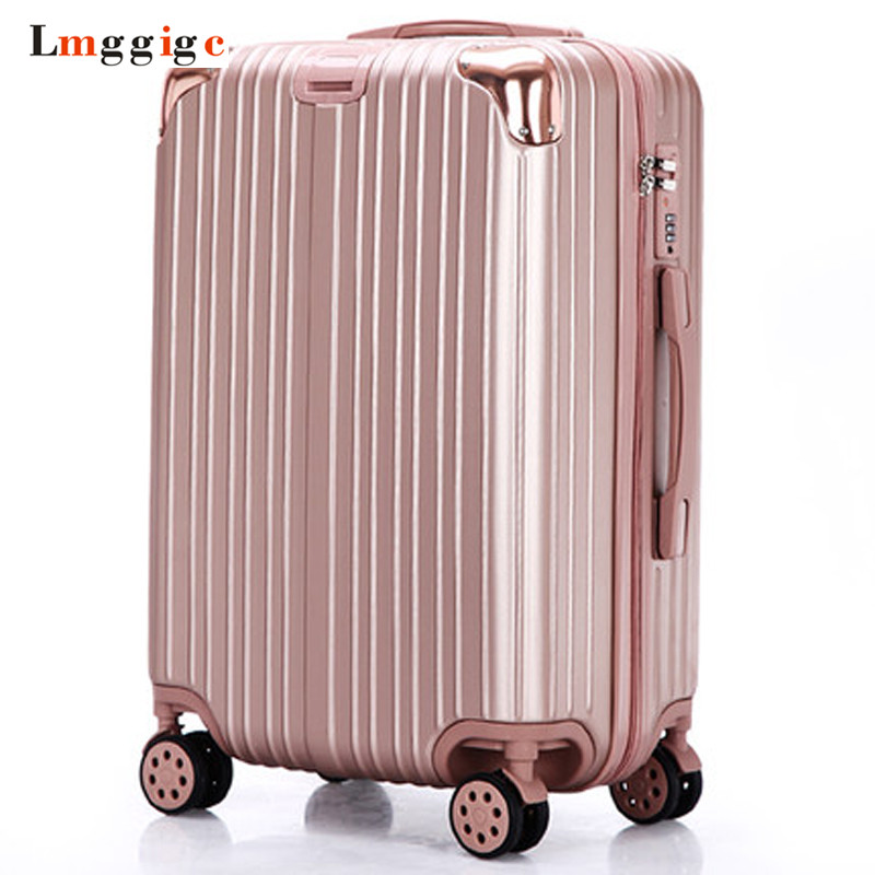 2022242629 inch Luggage Suitcase Bag,Spinner Rolling Travel Trolley Case,PC+ABS Carry-On,Multiwheel Box with Lock luggage 2pcs set 14 inch and 20 22 24 26 inch box rolling suitcase universal wheel travel box password girl luggage bags trunk
