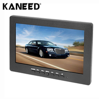 High Quality New Car Monitor Auto Accessories 7 Inch TFT LCD Color Monitor Support Three Channel