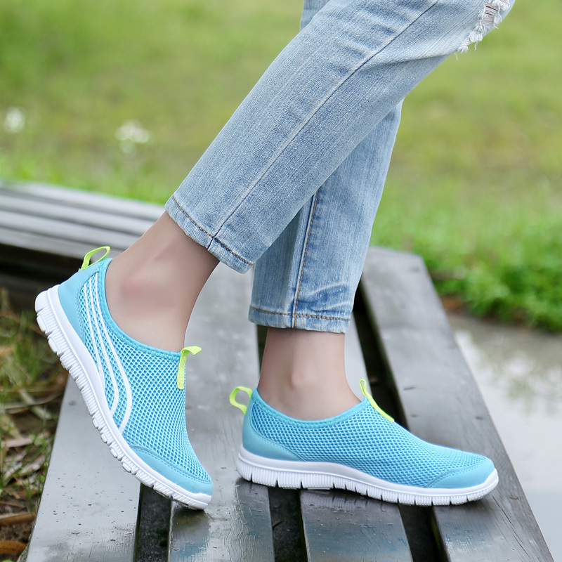 Sneakers Breathable Women Summer 2018 Mesh Female New Light Running EDWH29IeYb