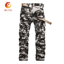 2017 New Camo Pants Men Fashion Camouflage Pants Casual Style Trousers Pant Men Big Size 28-40 Tactical Pants Cotton Sweatpants