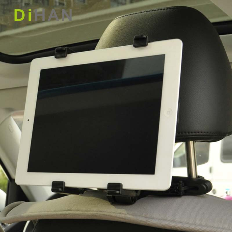 Universal Auto Mount Car Seat Headrest Mount Holder Table For iPad 2 3/4 Air 5 6 ipad mini 1234 Samsung Mipad Tablet Pc Bracket