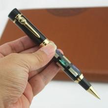 Jinhao 650 роскошная ручка ролик с резьбой в виде ракушки с золотым зажимом 0,7 мм перо металлические чернильные ручки офисные принадлежности для бизнеса