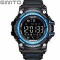 2017 gimto digital smart watch hombres a prueba de agua led de buceo reloj deportivo podómetro smartwatch militar relojes de pulsera electrónica de choque