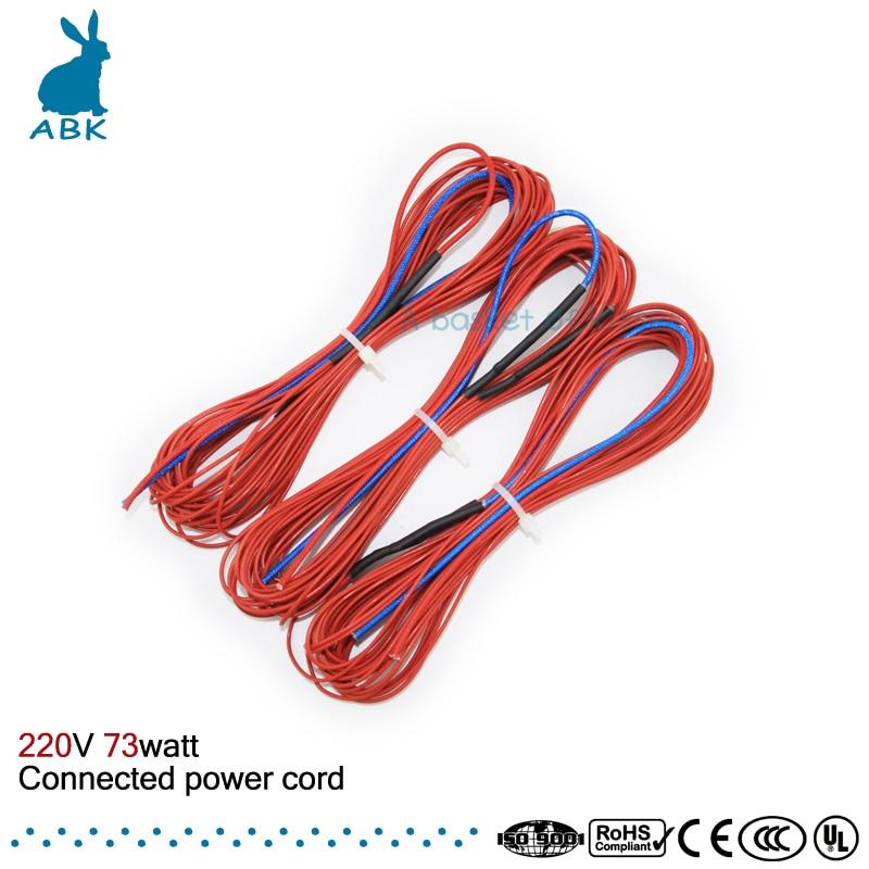 Fios Elétricos infravermelho Material do Condutor : Carbon Fibre