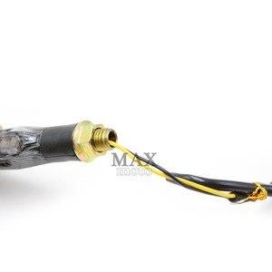 Image 5 - Motorcycle LED Turn Signal Indicators Lights Universal flashers motocross light for yamaha YZF R1 2009 2014 2010 2011 2012 2013