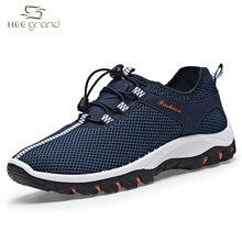 De malla Transpirable Zapatos de Los Hombres Zapatillas de deporte con cordones Zapatos Para Correr Calzado Mans XYP405