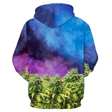 3D cat hoodie kush