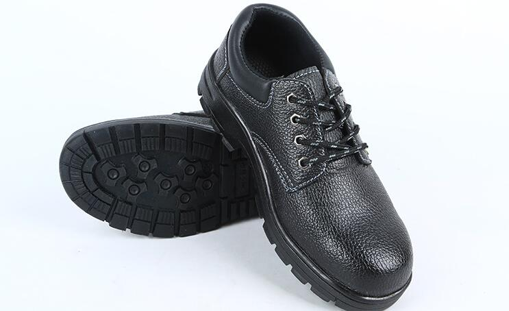 Mining site construction site work shoes wear-resistant anti-smashing and puncture safety men's shoes цена