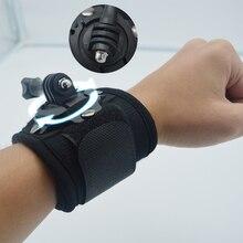 Hand strap font b Tripods b font 360 Degrees Rotate Gopro Wrist Strap Arm Mount Wrist