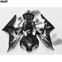 Molded Drilled Fairing kit Bodywork Grey Black ABS for Honda CBR1000RR 2006 2007