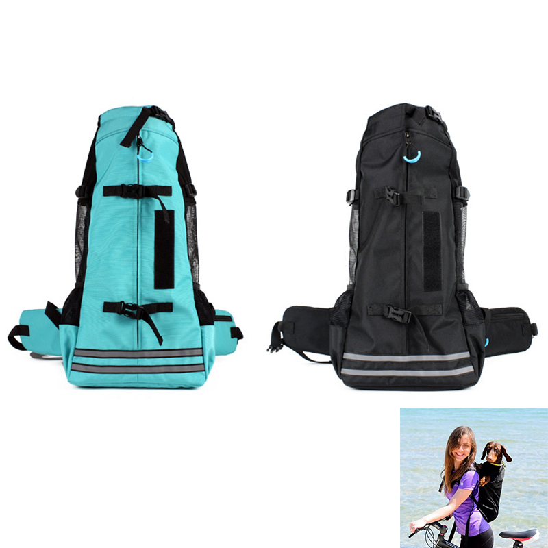 Fashion Outdoor Pet Backpacks Portable Dog Sport Sack Breathable Carriers for Medium Dogs Pet Travel Hiking Accessories